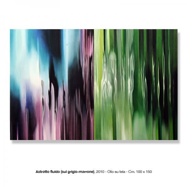 15) Astratto fluido, 2010