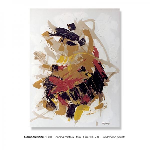 1) Composizione, 1980