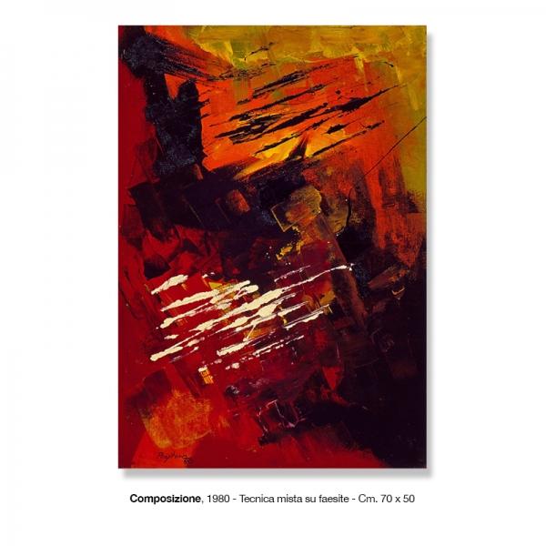 2) Composizione, 1980