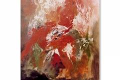 3) Astrazione in rosso, 1981