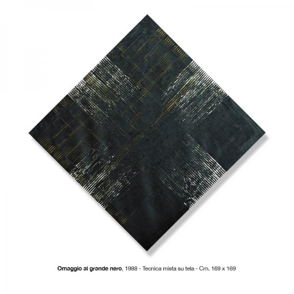 10) Omaggio al grande nero, 1988