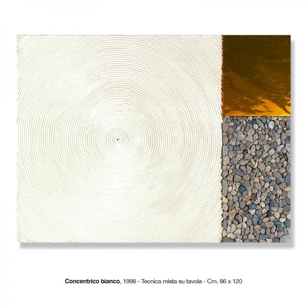 16) Concentrico bianco, 1998