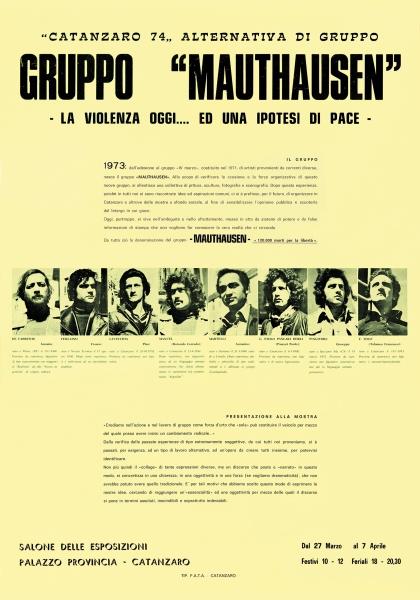1974) Manifesto mostra