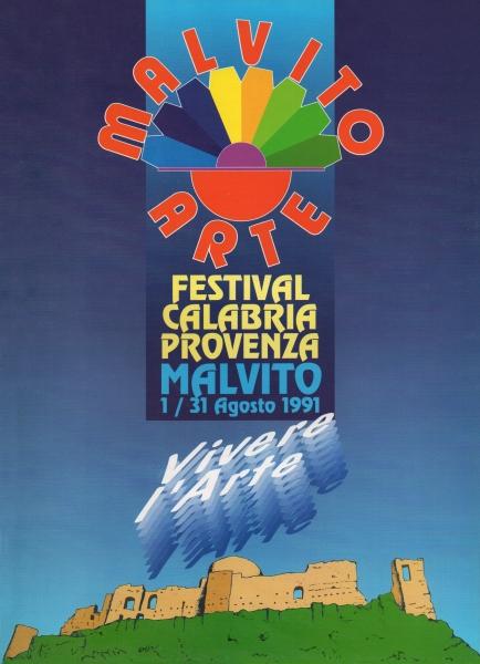 1991 Catalogo Malvito Arte