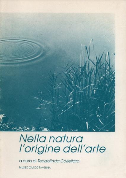 1992-1993) Catalogo Nella natura l'origine dell'arte
