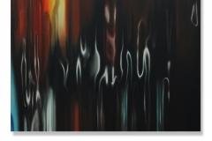 16) Astratto fluido, 2015