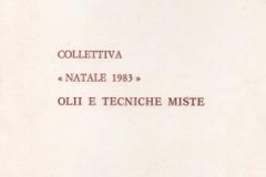 1983) Pieghevole Natale 1983